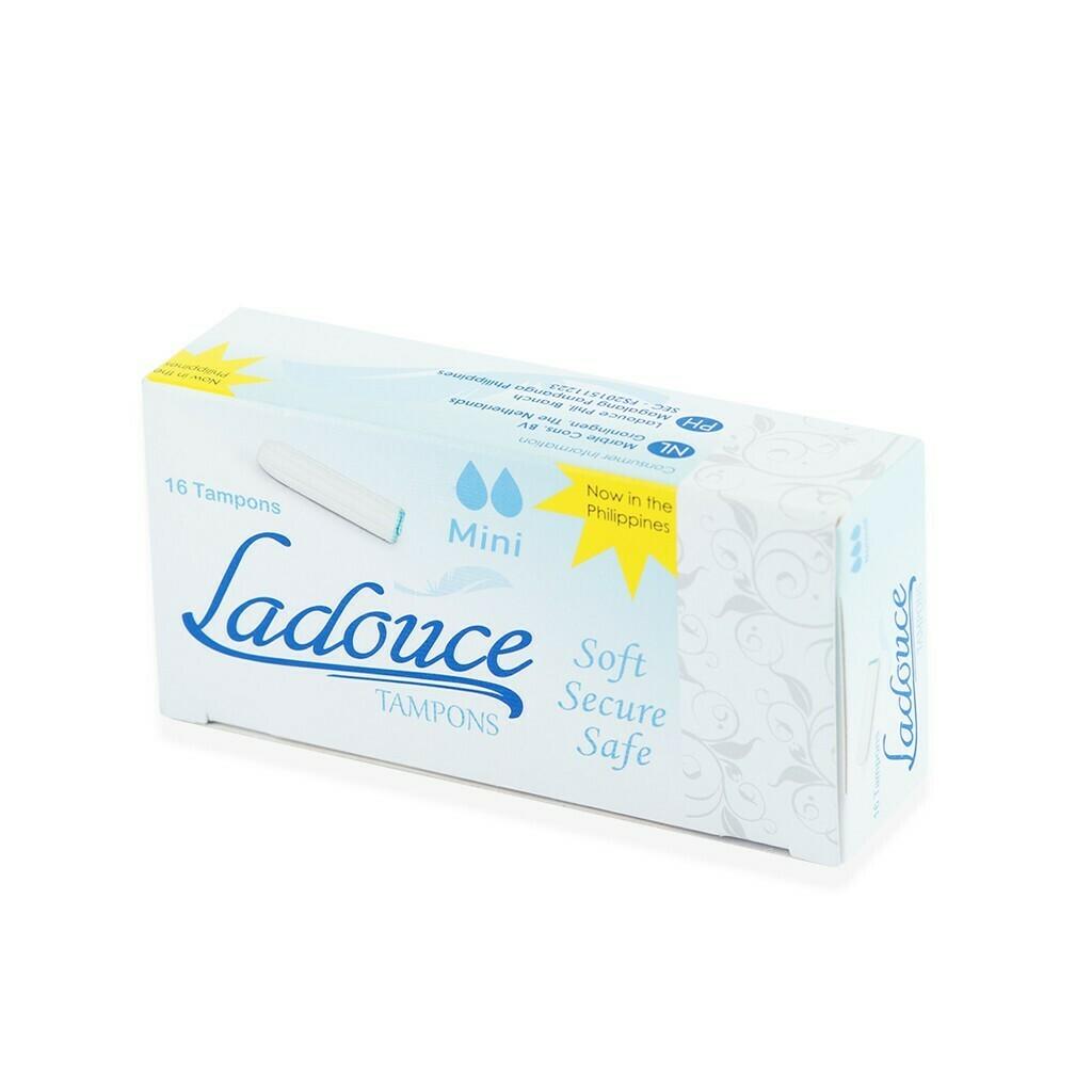 Ladouce Organic TAMPONS Mini 16 pcs (NON APPLICATOR TAMPONS)
