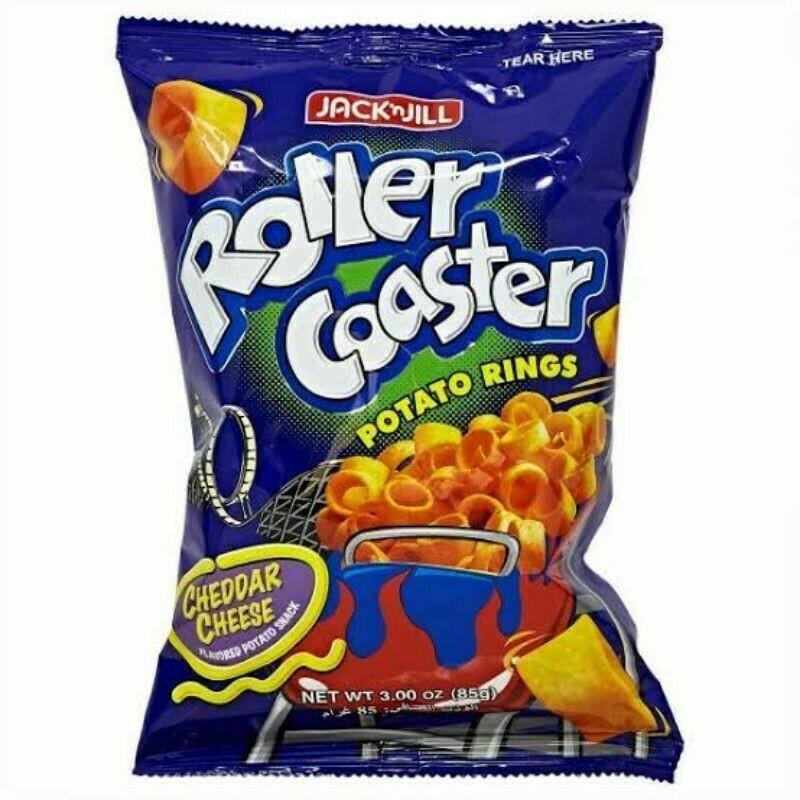 Roller Coaster CHEDDAR 85g