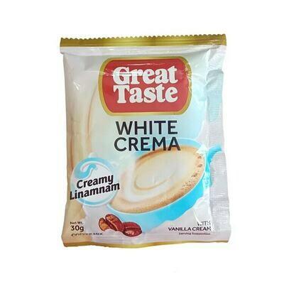 Great Taste WHITE CREMA 30g x 10