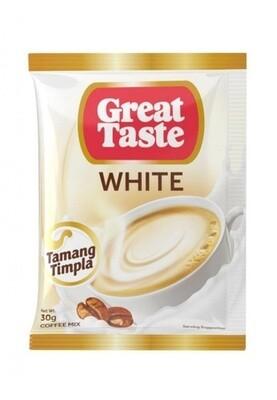 Great Taste 3in1 WHITE COFFEE 30g x 10