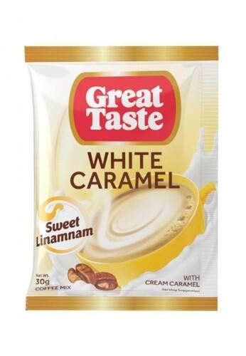 Great Taste WHITE CARAMEL 30g x 10