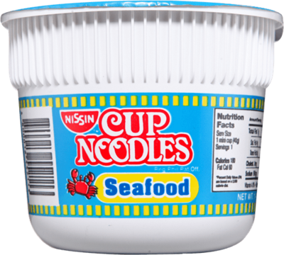 Nissin MINI SEAFOOD Cup Noodles 40g