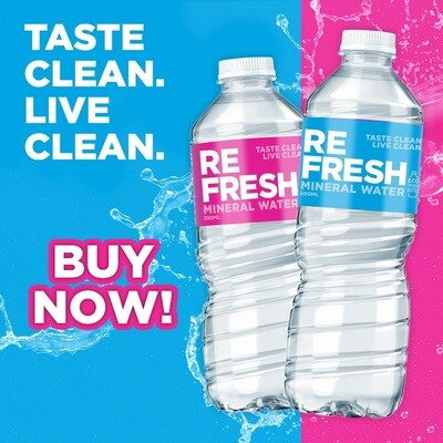 Refresh MINERAL WATER 1000ml