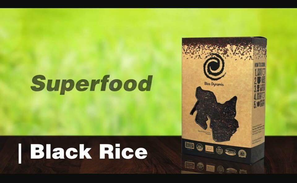 Bios Dynamis CERTIFIED ORGANIC BLACK RICE 1kg