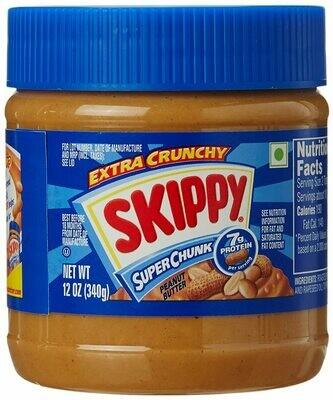 Skippy CRUNCHY PEANUT BUTTER 340g