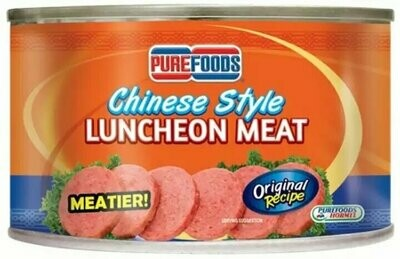 Pure Foods CHINESE STYLE LUNCHEON MEAT 350g