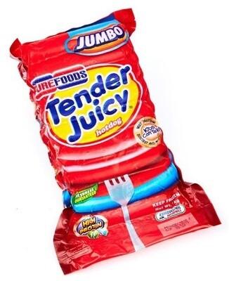 Tender Juicy Hotdog JUMBO 1kg