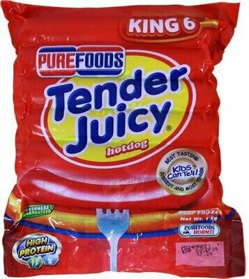 Tender Juicy Hotdog KING SIZE 1kg