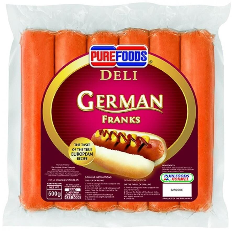 Deli GERMAN FRANKS 500g