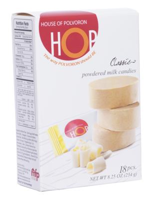 HOP Classic Polvoron Box – 18pcs – 234gr