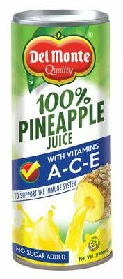 Del Monte 100% Pine Juice with Vitamin ACE 240ml
