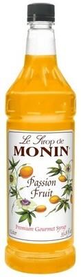 Monin PASSION FRUIT Syrup 1 Liter