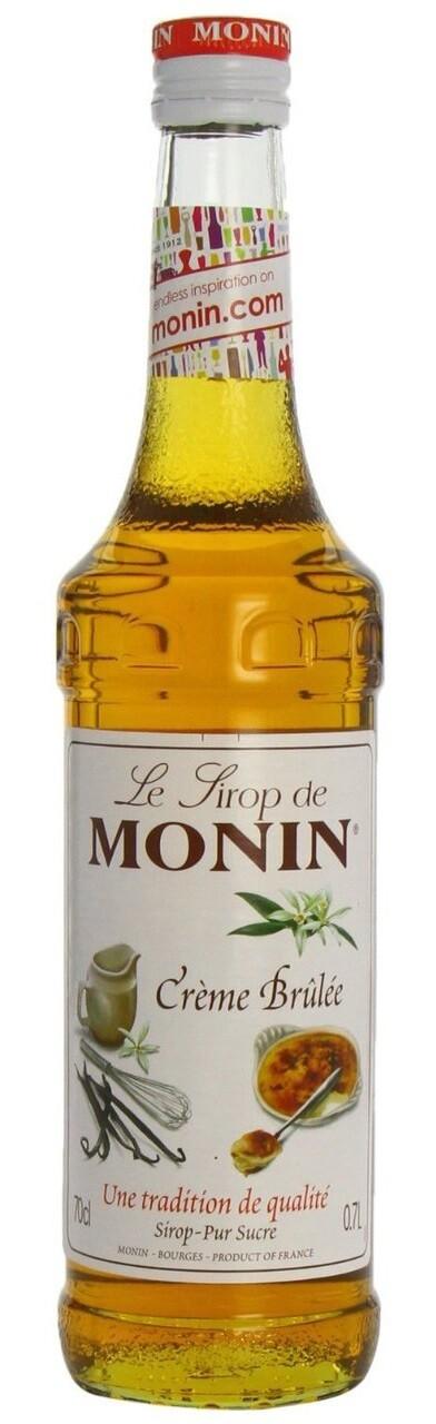 Monin CREME BRULE Syrup 1 Liter