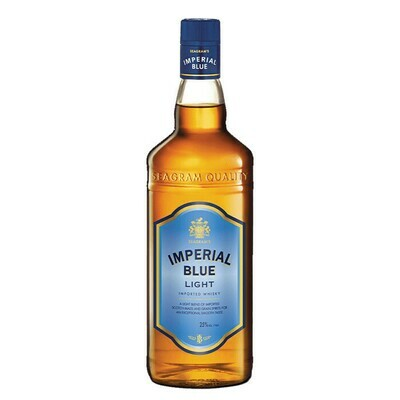 SPECIAL OFFER: FREE COOLER BOX + 1 case Imperial Blue Light Whiskey 700ml (25%) (12 bottles)