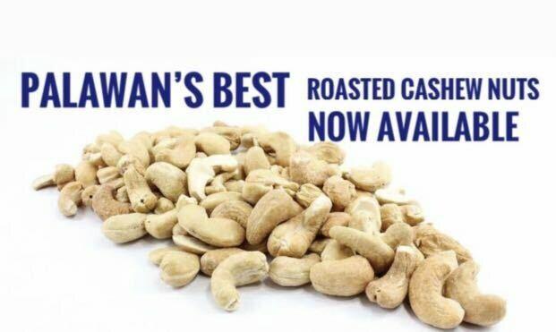 Palawan's ROASTED CASHEW NUTS 500 grams