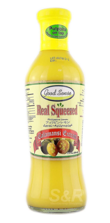 Good Sense Real Squeezed CALAMANSI EXTRACT 500ml