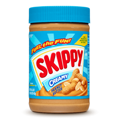 Skippy CREAMY PEANUT BUTTER 462g