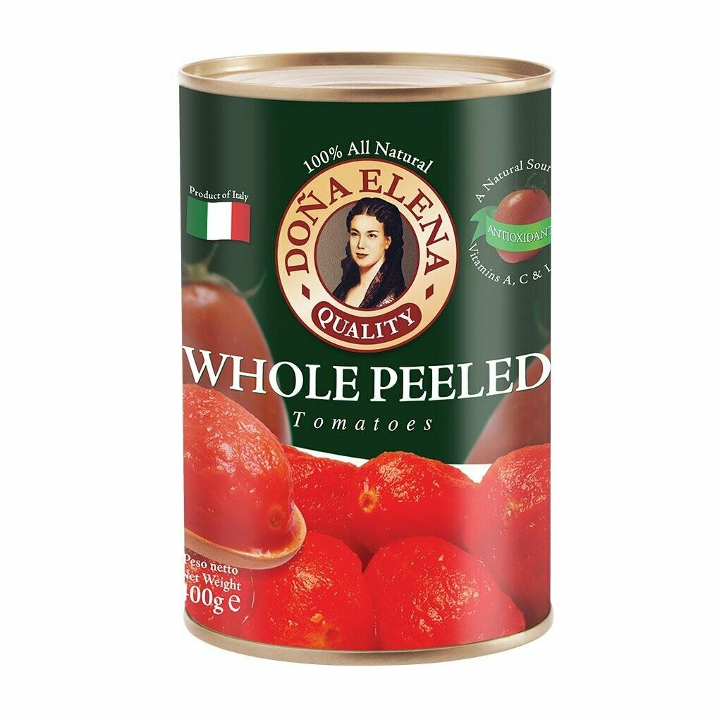 Dona Elena Whole Peeled Canned Tomatoes 400g