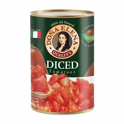 Dona Elena Diced Canned Tomatoes 400g