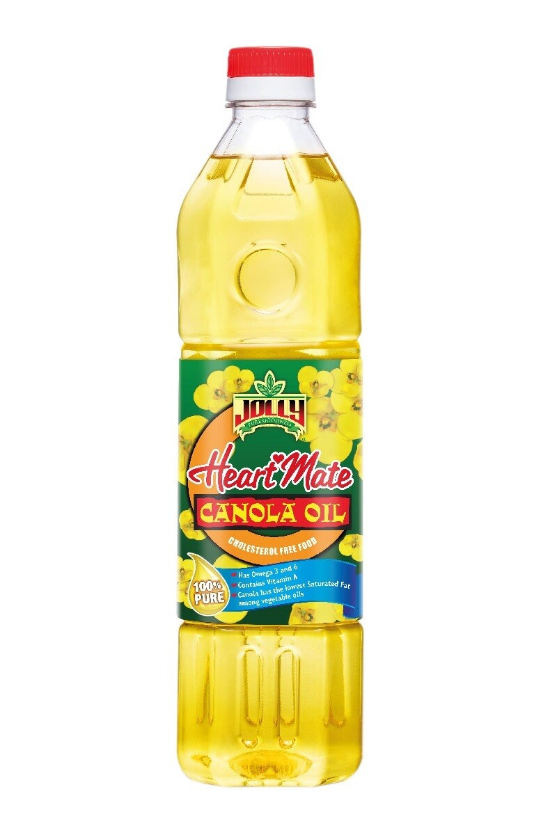 Jolly Heart Mate CANOLA Oil 1 Liter