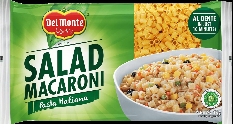 Del Monte SALAD MACARONI Pasta Italiano 1 Kg