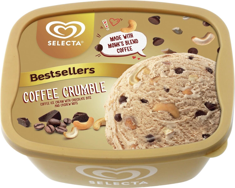 Selecta COFFEE CRUMBLE Ice Cream 1,4 Liter