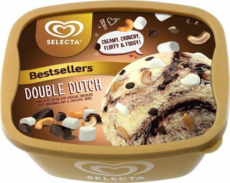 Selecta DOUBLE DUTCH Ice Cream 1.4 Liter