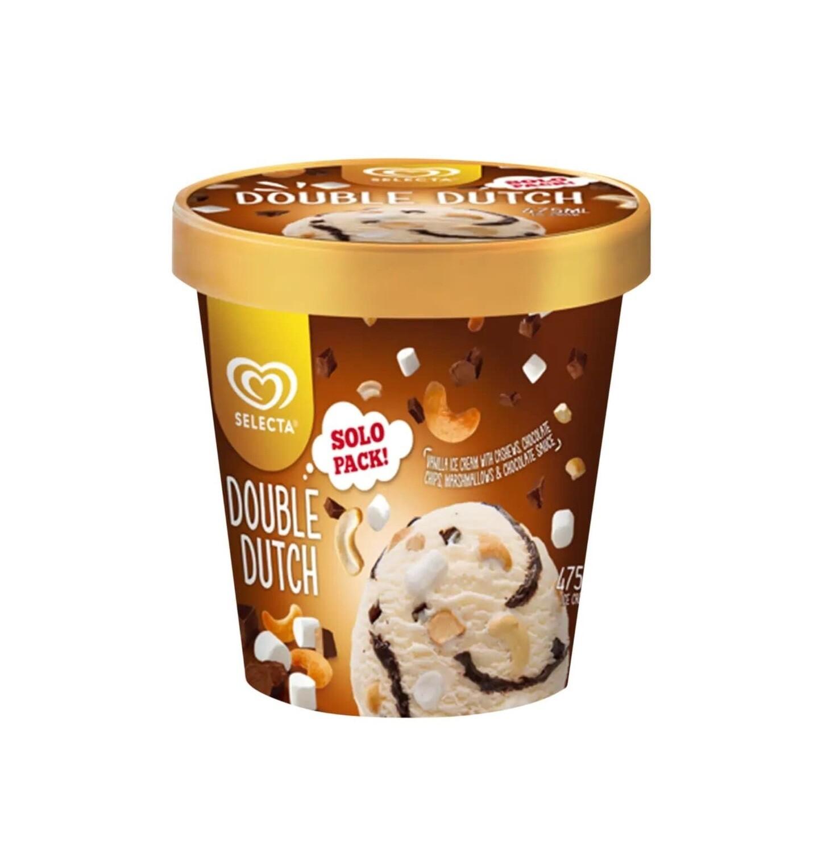 Selecta DOUBLE DUTCH Ice Cream Solo Pack 475ml