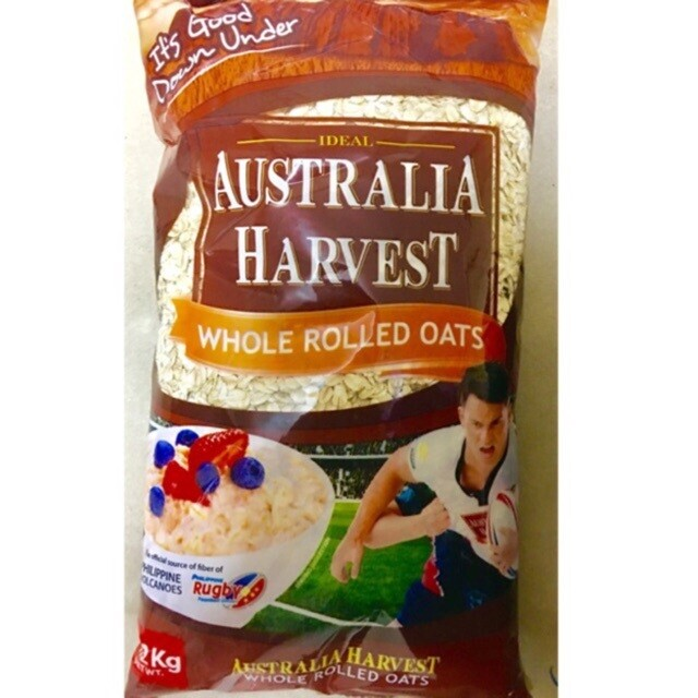 Australia Harvest ROLLED OATS 1Kg