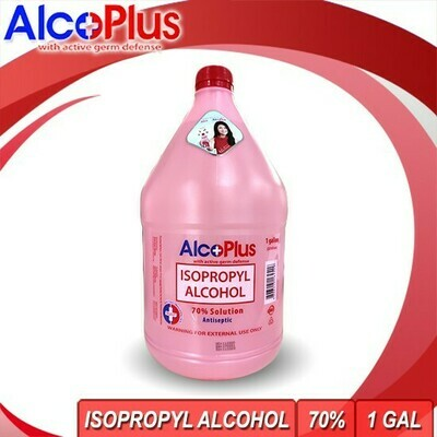 Alcoplus Isopropyl Alcohol 70% 1 Gallon