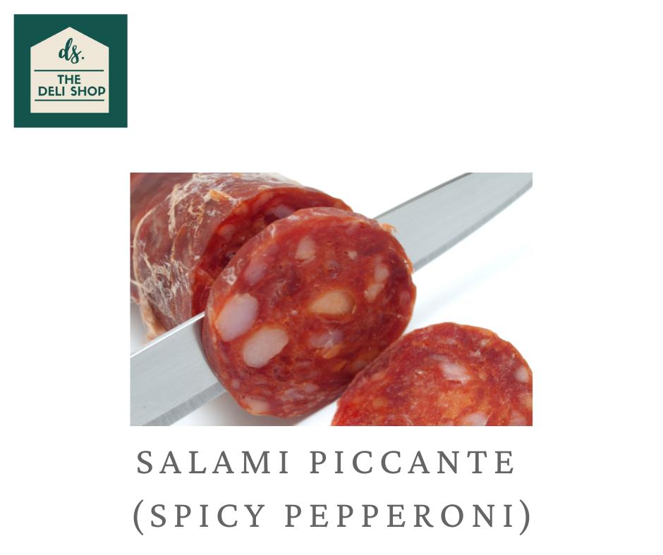 Deli Shop SALAMI PICCANTE (SPICY PEPPERONI) Meat 200 grams