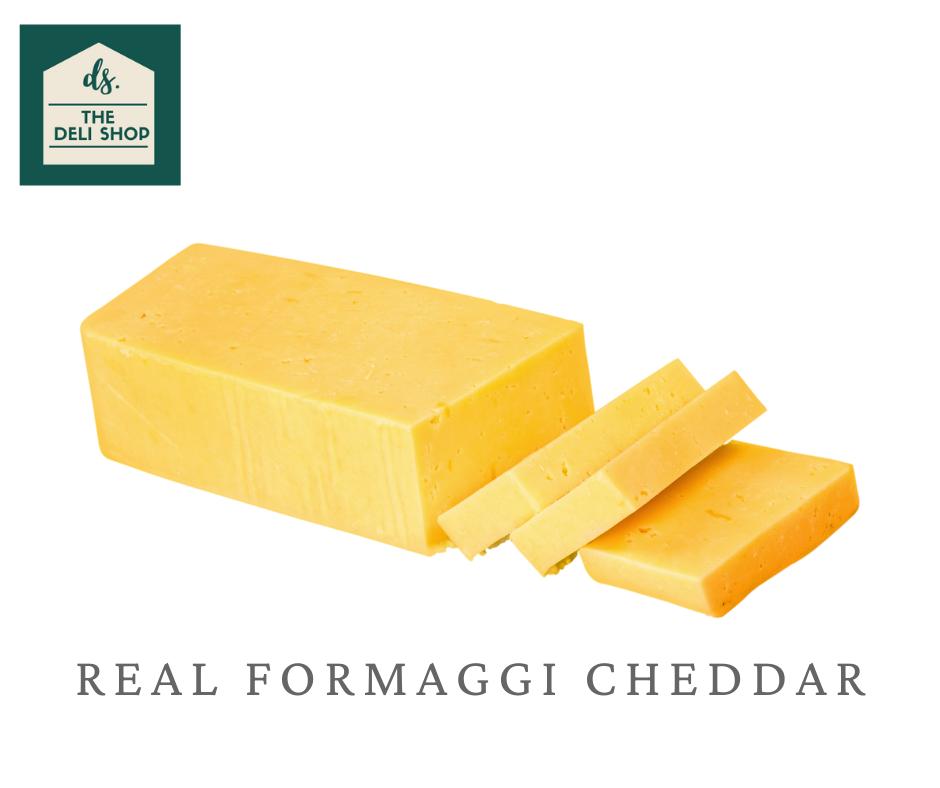 Deli Shop REAL FORMAGGI CHEDDAR Cheese 200 grams