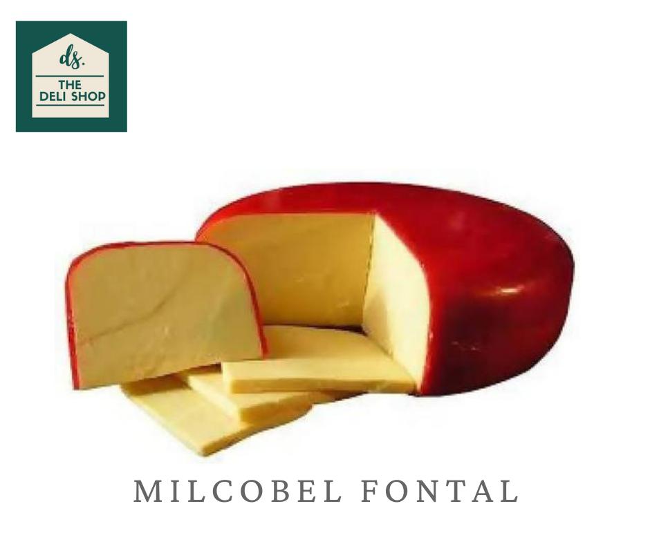 Deli Shop MILCOBEL FONTAL Cheese 200 grams