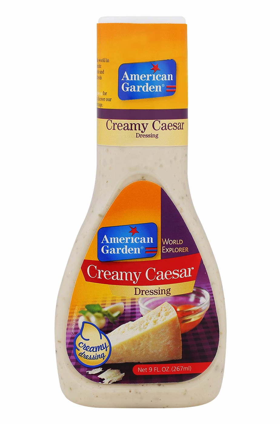 American Garden CREAMY CAESAR Dressing 267ml