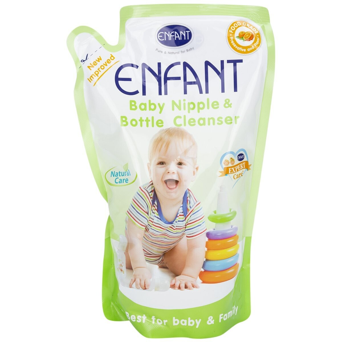 Enfant Nipple and Bottle Liquid Cleanser 700 ml
