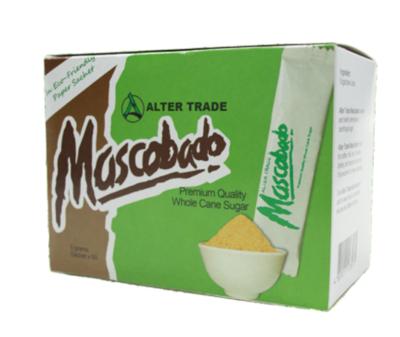 Alter Trade MUSCOVADO Sugar Sachet 50 x 5 grams