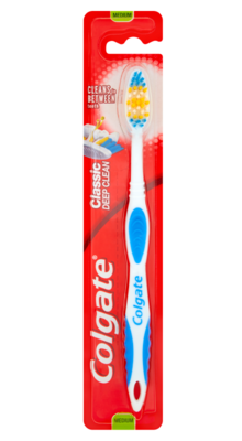 Colgate Classic Deep Clean Toothbrush Medium (Color can be different)