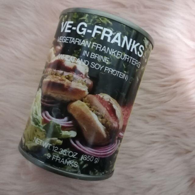 VE-G-FRANKS - vegetarian Frankfurters - 350g