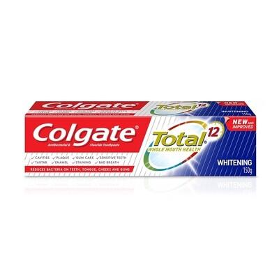 Colgate Total 12 Whitening 150g