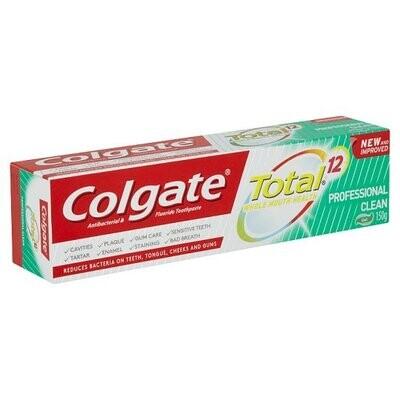 Colgate Total 12 Professional Clean 150g