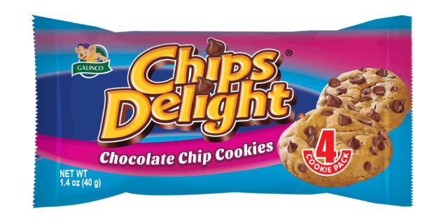 Chips Delight CHOCOLATE CHIP Cookies 40g x 12