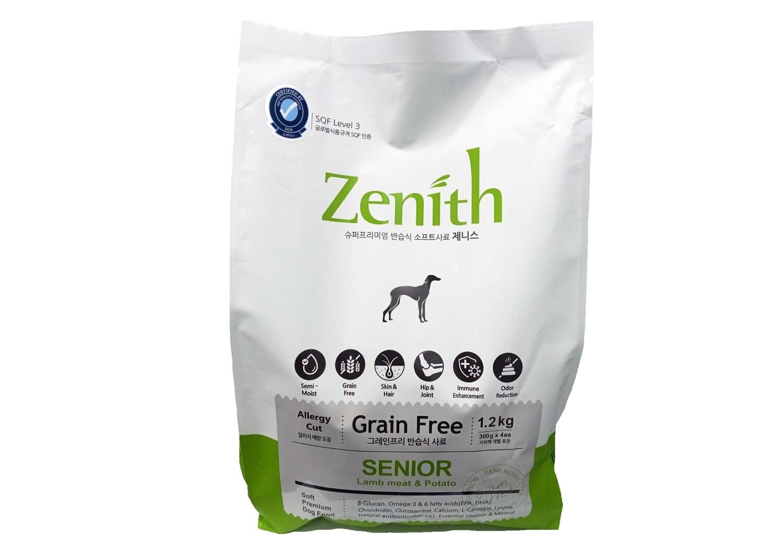 Zenith Grain Free Soft Premium Dog Food Lamb & Potato (Senior) 1.2kg