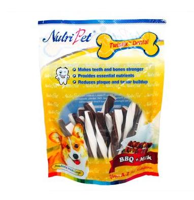 Nutripet Twistix Dental BBQ + Milk 180g