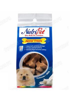 Nutripet Power Bone Milk 145g Dental Treats