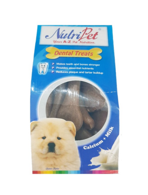 Nutripet Twistix Mini Calci - Bone Chicken 145g Dental Treats