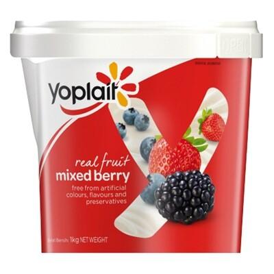 Yoplait MIXED BERRIES YOGURT 1 kg