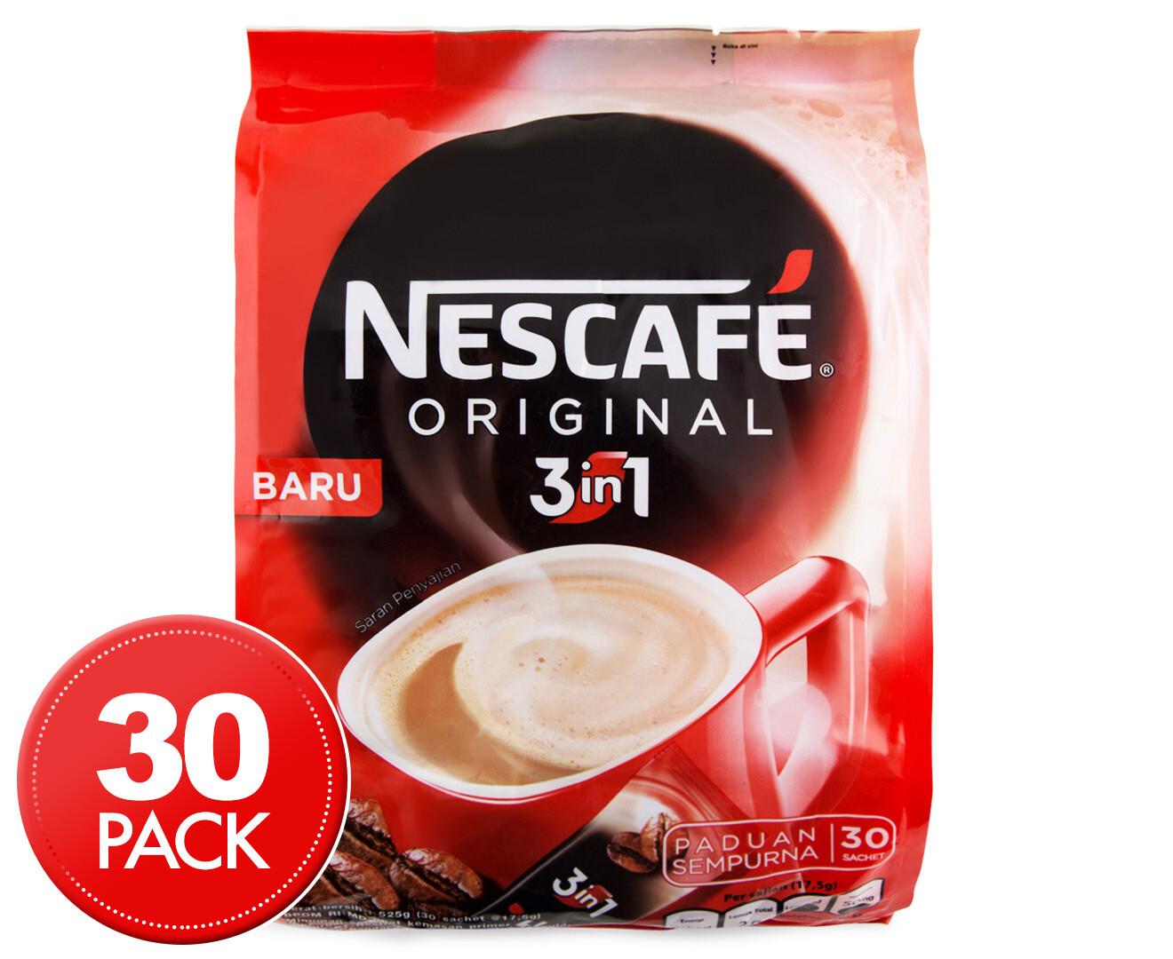 Nescafe ORIGINAL 3in1 CLASSIC 30 pcs