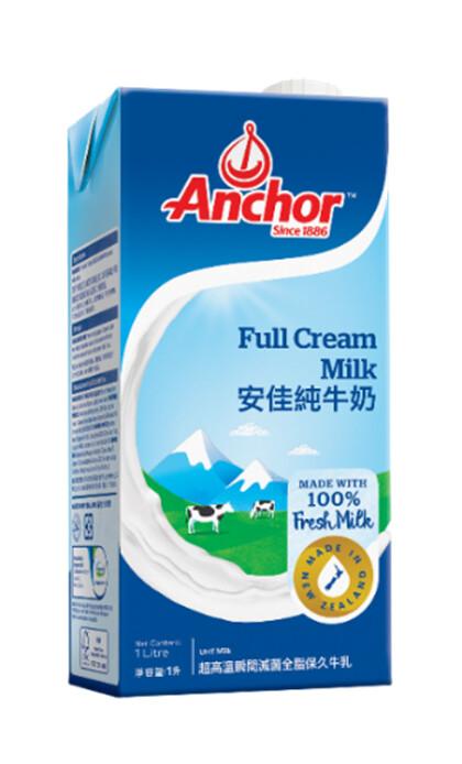 Anchor FULL CREAM MILK 1 Liter