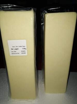 Hilmar White CHEDDAR Cheese from USA 1kg and above