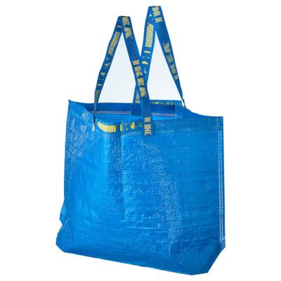 IKEA FRAKTA Shopping Bag, Medium, Blue, (Ecobag, Recyclable)